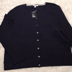 Isaac Mizrahi Live Essentials buttoned Cardigan